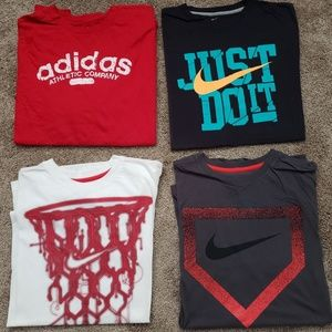 Nike and Adidas shirt size XXL